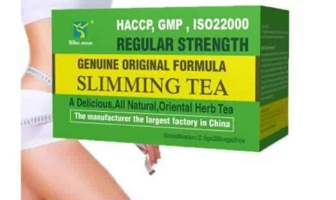 Sliming tea