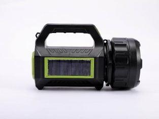 MULTIFUNCTIONAL SOLAR LED FLASHLIGHT